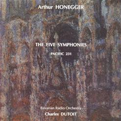 The Five Symphonies, Pacific 231, Rugby. CD 1