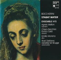 Boccherini - Stabat Mater, G.532 (1781); Quintet In C Minor, G.328 (1780)